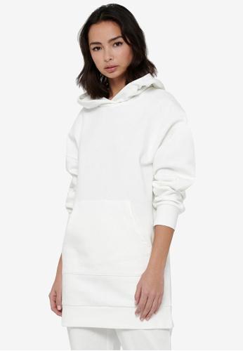 JACQUELINE DE YONG white Cathrin Life Sweat Dress A73ACAAA82398FGS_1