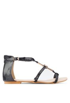 Amaris 簡約繞踝涼鞋