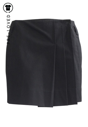 Gucci black Pre-Loved gucci Black Mini Skirt 8FE4EAA270A343GS_1