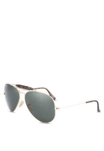 Ray-Ban gold Outdoorsman Ii RB3029 Sunglasses RA941GL0UNXBID 1 b8efcb1ae7