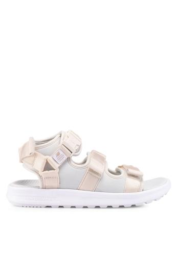 New Balance beige 750 Lifestyle Sandals 667D1SHE335AACGS_1