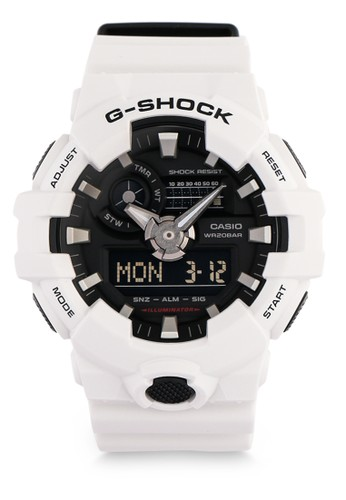G-Shock white Male Digital Watches GA-700-7ADR 6511CAC18E4394GS_1