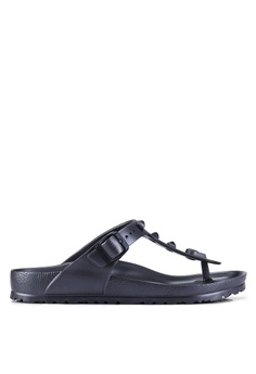 b1554a243acb Birkenstock grey Gizeh EVA Studded Sandals C1212SHA9A1488GS 1