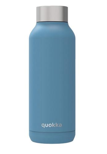 QUOKKA QUOKKA STAINLESS STEEL BOTTLE SOLID STEEL BLUE 510 ML 1EE35AC02FFEE2GS_1