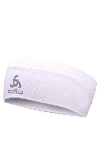 Odlo white Ceramicool Headband 61FD8AC8BFE0BBGS_1