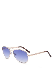 65f431954c River Island Maisie Chain Arm Gold Revo Lense Aviator Sunglasses Php  1149.00  Maisie Aviator Sunglasses