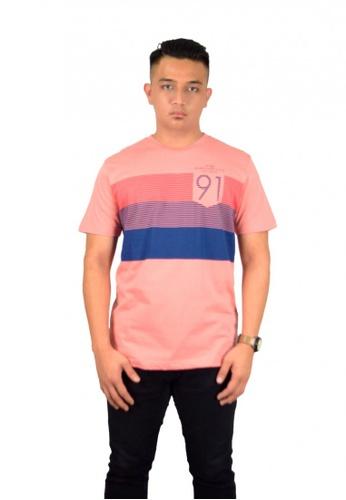 UBAY pink UBay Men Round Neck Tee-S/S (MD. PINK) 5D39BAA6C3A68EGS_1