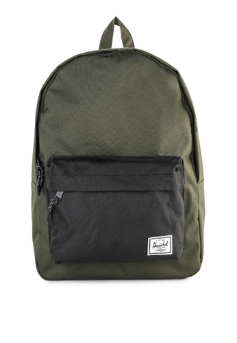 Herschel green Classic Backpack C6495AC236DB7AGS_1