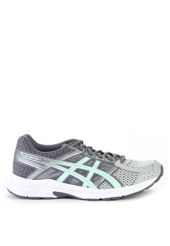 Asics multi and grey Gel-Contend 4 Running Shoes AS436SH0WEXBID_1