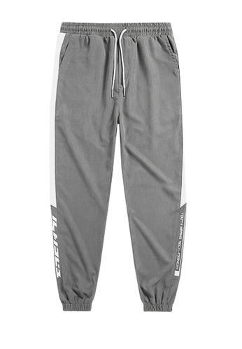 Twenty Eight Shoes grey VANSA  Solid Color Casual Pants  VCM-P2068 EAAB9AAC482C65GS_1