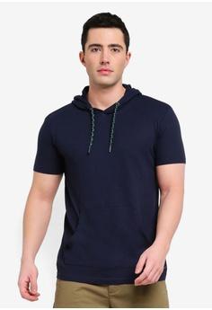 66b5a3e8f3 ESPRIT navy Short Sleeve T-Shirt D3145AA0776AE1GS_1