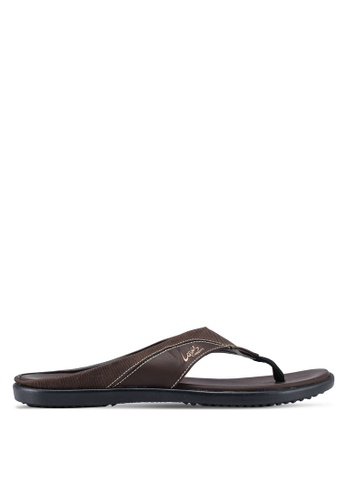 Louis Cuppers brown Casual Sandals A6973SHAD6EEF7GS_1
