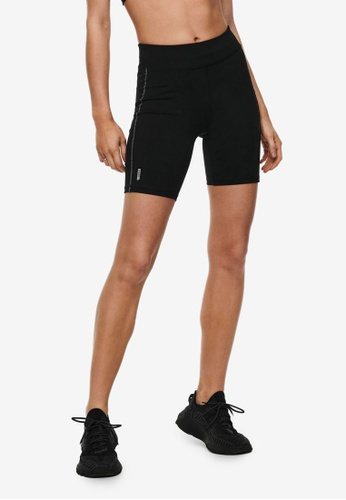 ONLY PLAY 黑色 Perform Run Tight 短褲 4916DAAF07DDFDGS_1