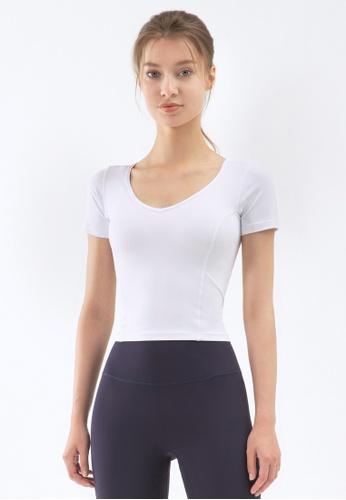 HAPPY FRIDAYS Women's Yoga Short Sleeve Tees DSG83 509D3AAC4D6C5DGS_1