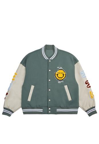 Twenty Eight Shoes Loose-Fitting Embroidered Baseball Uniform 5032W21 C6EC8AA5B86206GS_1