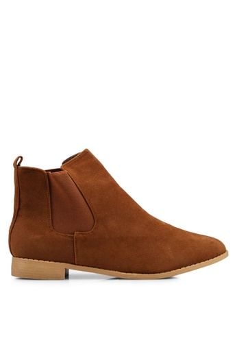 Brave Soul 米褐色 Chelsea 靴子 CFDF5SH77E8ED0GS_1