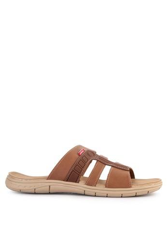CARVIL brown Carvil Sandal Casual Men Ferero-03 M Brown A2C53SH1C30514GS_1