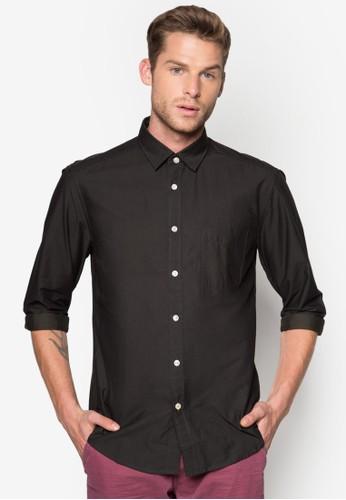 基本esprit outlet 高雄款長袖襯衫, 服飾, 襯衫
