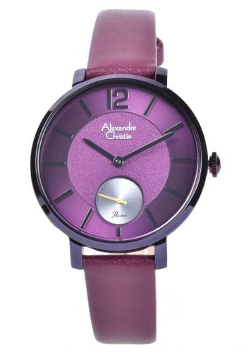 Alexandre Christie purple Alexandre Christie - Jam Tangan Wanita - Purple - Leather Strap - 2751LSLIEPU EA276ACEA3940FGS_1