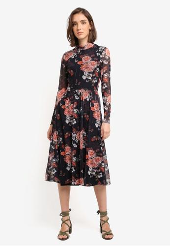 Y.A.S black Nur Long Sleeve Dress 6B9A5AAEDB522FGS_1