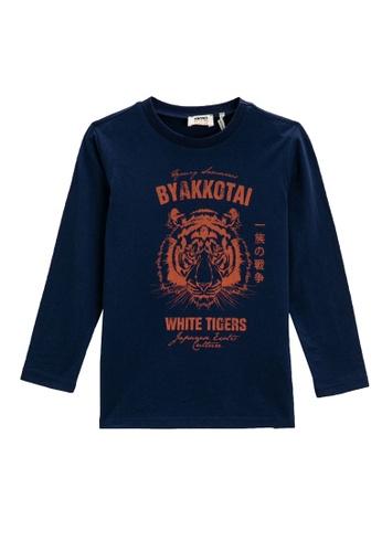KOTON blue T-Shirt For Boys 4D83FKAEF54942GS_1