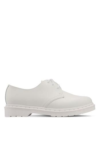 Dr. Martens white Core Originals 1461 Mono 3 Eye Shoes DR086SH0SX5IMY_1