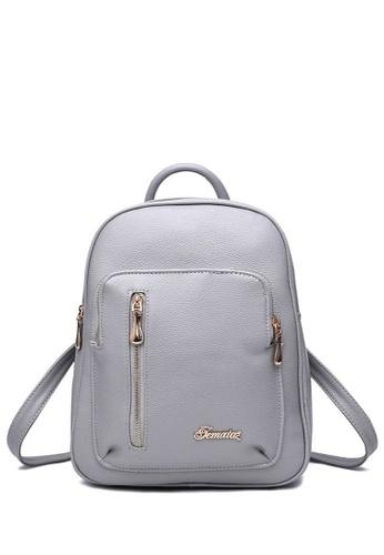 TCWK grey Ladies Backpack TC258AC44IYDMY_1