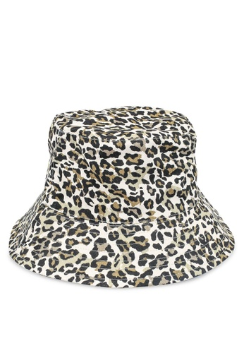 Pieces black Nabby Bucket Hat C74BAACF34EC24GS_1