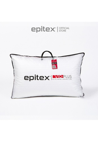 Epitex white Epitex Vio+ Plus Elite Hotel Collection Pillow (1200g) 93C2DHLEBA896CGS_1