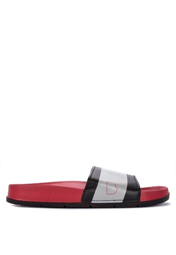 BENCH red Buckle Strap Sandals 88877SHC737247GS_1