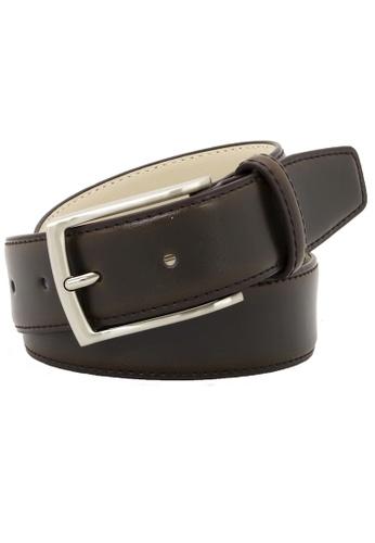 Buckle brown Casablanca Leather Belt F9185AC8E122B8GS_1