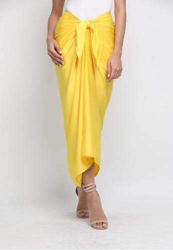 Klambi KL yellow INSTANT PAREO LEMON YELLOW 02A08AA5CA4702GS_1