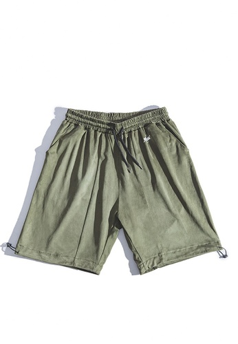 Twenty Eight Shoes green VANSA  Casual Suede Shorts VCM-St2001096 3C769AA905DEB9GS_1