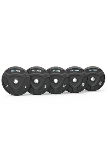 LIVE UP AND LIVE PRO. black Rubber Bumper Plates 57F60SE276B024GS_1