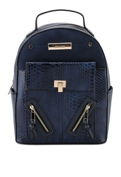River Island navy Navy Backpack 6AE9BAC04529BEGS 1 e4d1fbea5a341