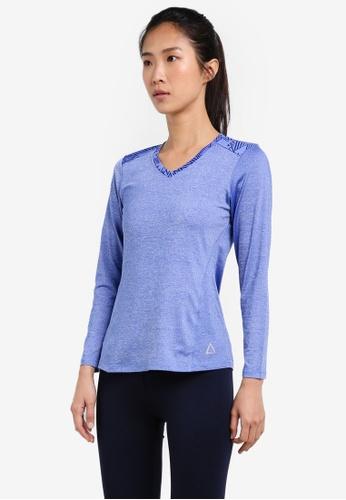AVIVA blue Long Sleeve Shirt AV679AA0S9G8MY_1