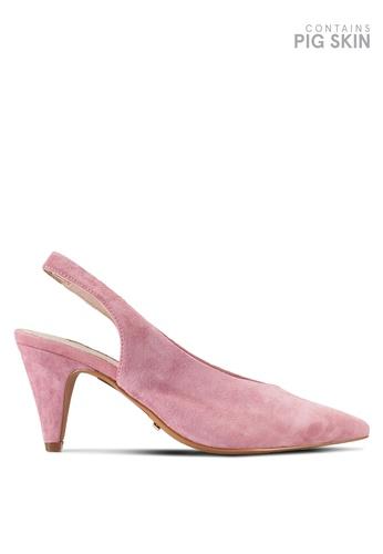 TOPSHOP pink Jetset V Cut Heels TO412SH35GYMMY_1