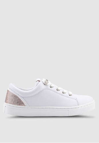 Guess 白色 Jollie 運動鞋 D9A2FSHD5AC01EGS_1