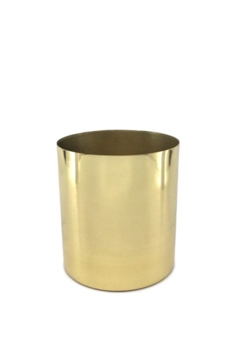 Stylodeco Flower Vase in Brass, M 09695HLE65AC87GS_1