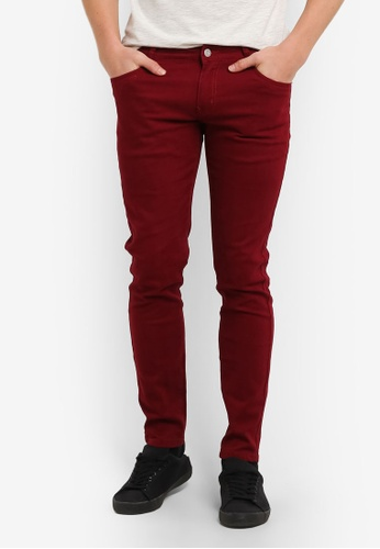 High Cultured red Casual Long Pants HI002AA0S1VBMY_1