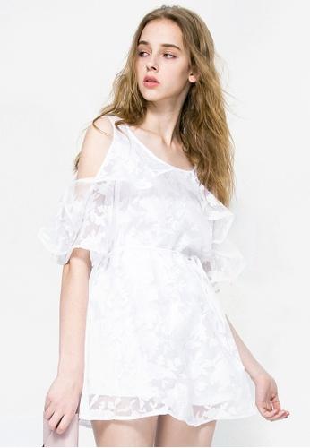 bfff48586c Shop Sesura Whimsical Shine Frilly Dress Online on ZALORA Philippines