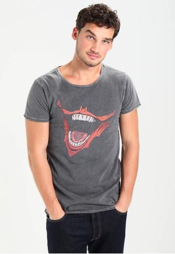 Gipsy 純棉T恤 黑暗騎士聯名款T恤- 小丑微笑/ Gipsy FE534AAE2278B1GS_1