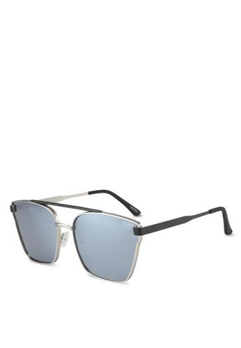 Quay Australia silver CASSIUS Sunglasses QU661GL0SHY5MY_1