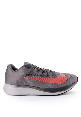 Nike grey Men's Nike Zoom Fly Running Shoes 7B777SHE52A804GS_1