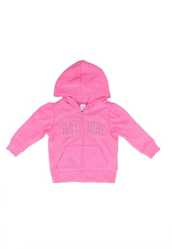 Gap pink Fash Logo Fz Hoodie B40A9KAE85969DGS_1