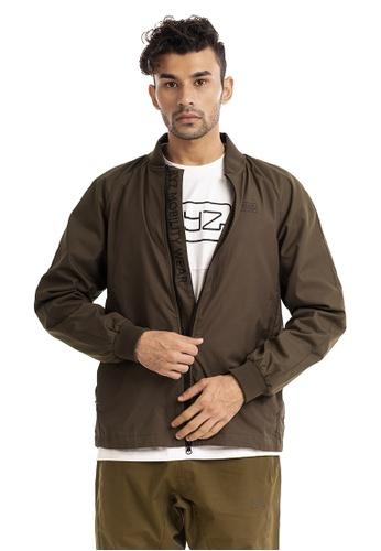 RYZ 褐色 RYZ 潮牌 男装 拉链 外套  卡其色 9E437AA03BD60AGS_1