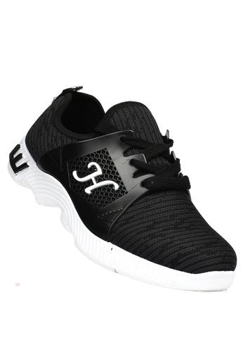 New York Sneakers black Davey B57 Men's Rubber Shoes A5740SH0D97809GS_1