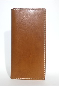 Men's Natural Tone Italian Leather Wallet