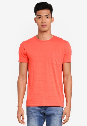 ESPRIT orange Short Sleeve T-Shirt CBF81AAAB699ADGS_1