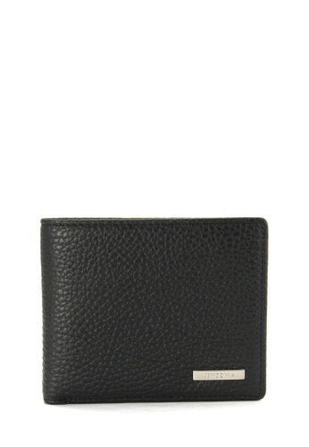 fa4c3a006204e SEMBONIA black Men Leather Tri-Fold Wallet (Black) 4A9B9ACFBD37BEGS 1